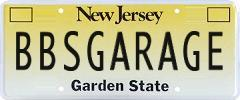 BBsGarage License plate